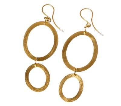 Dangling Parts #34016 | Earrings by Miriam Sharlin